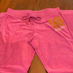 Juicy Couture terry cloth sweatpants